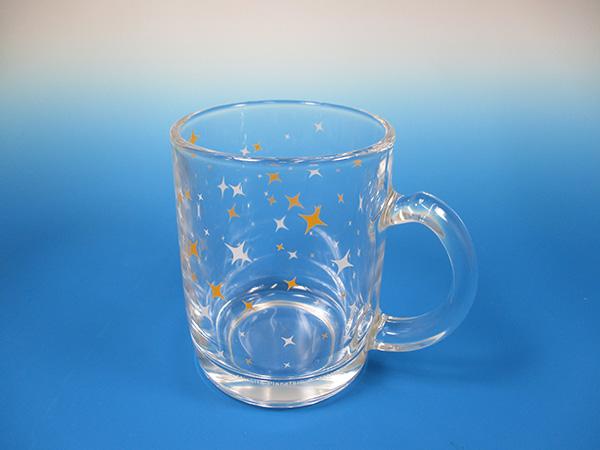 満天オリジナル グラスマグカップ
